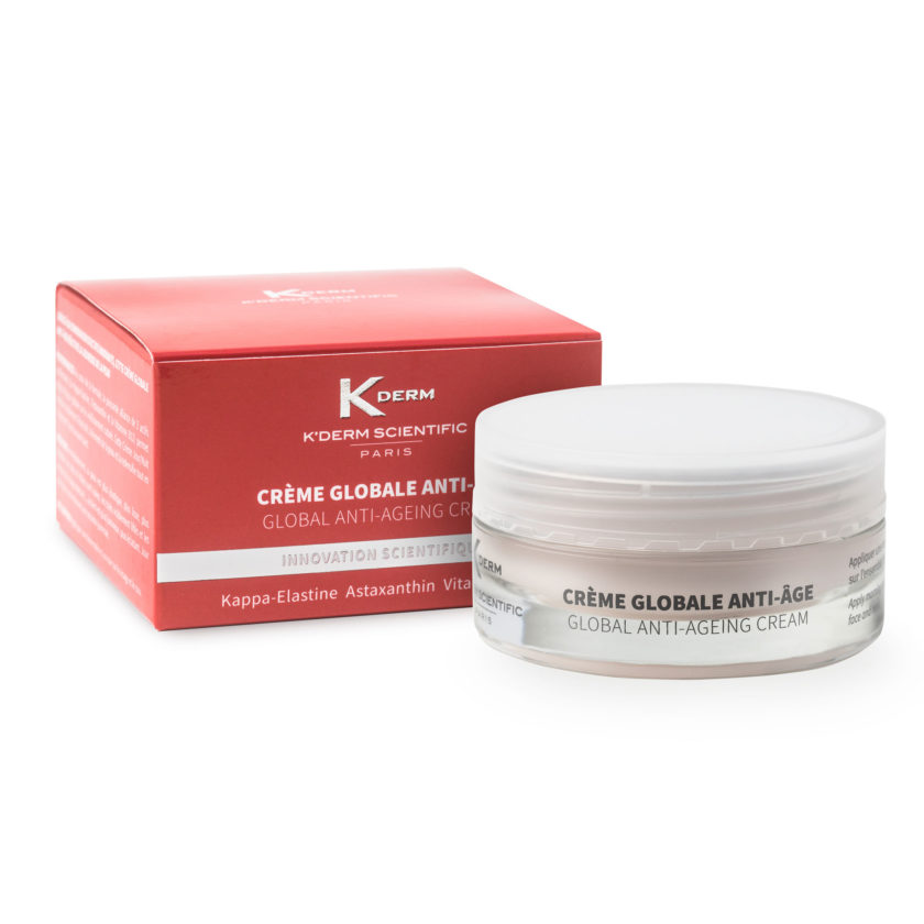 Crème globale anti-âge K'DERM Scientific Laboratoire VIVALIGNE - Global anti-ageing cream