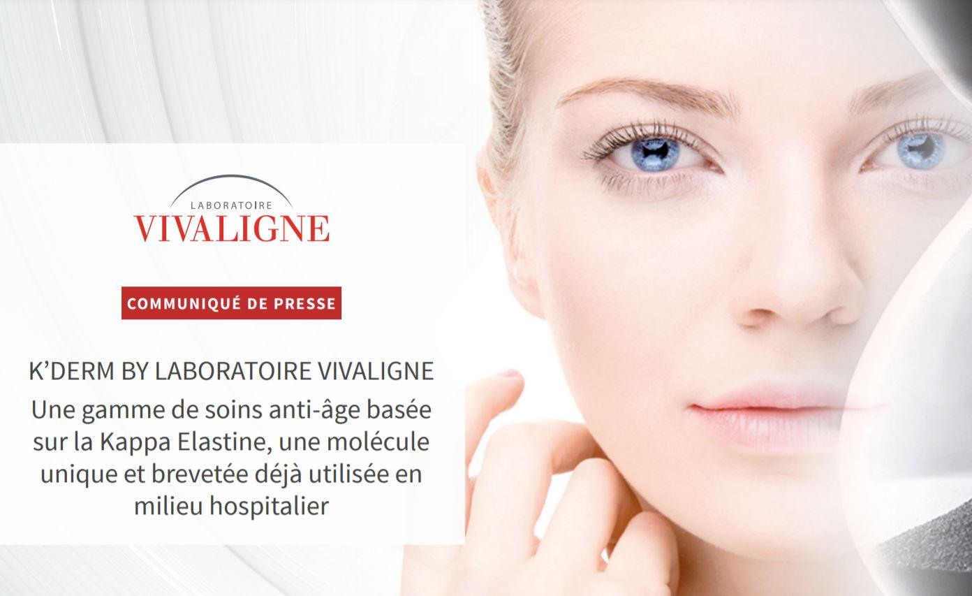 Une gamme de soins anti-âge basée sur une molécule unique et breveté : la Kappa Elastine